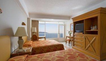 Habitación doble con vista al mar Hotel Krystal Beach Acapulco Acapulco
