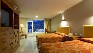 Habitación doble Hotel Krystal Beach Acapulco Acapulco