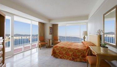 Habitación king con vista al mar Hotel Krystal Beach Acapulco Acapulco